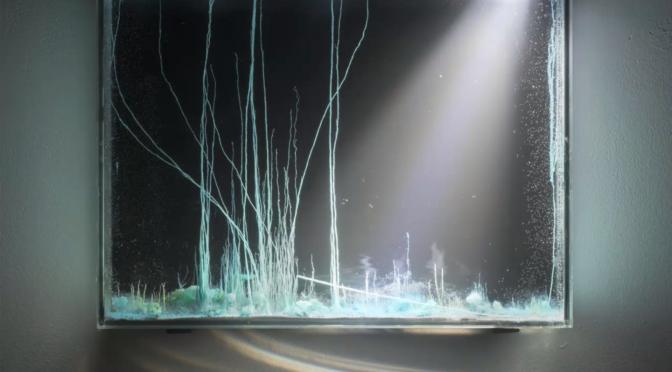 «Présage» de Hicham Berrada : art expérimental / expérimentation artistique